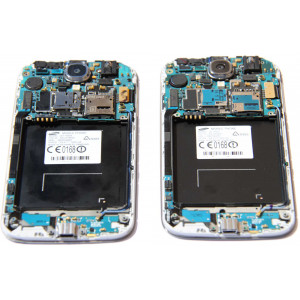 Repair and replacement of the motherboard in the Samsung phone