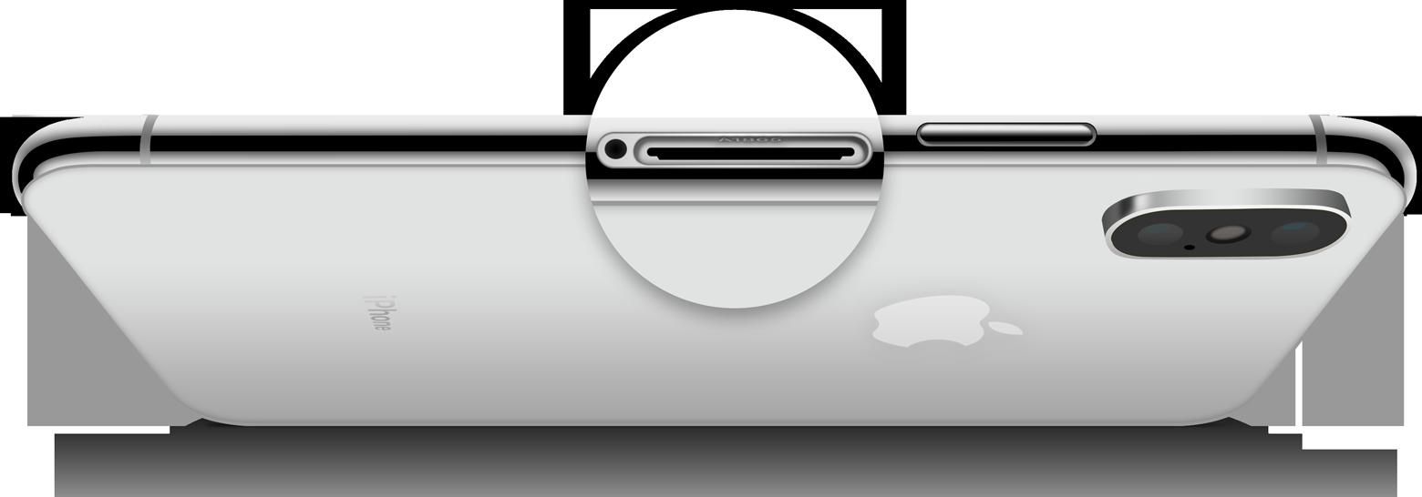 Модель iPhone в слоте SIM-карты