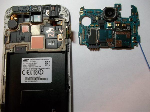 Ремонт і чистка після попадання вологи Samsung